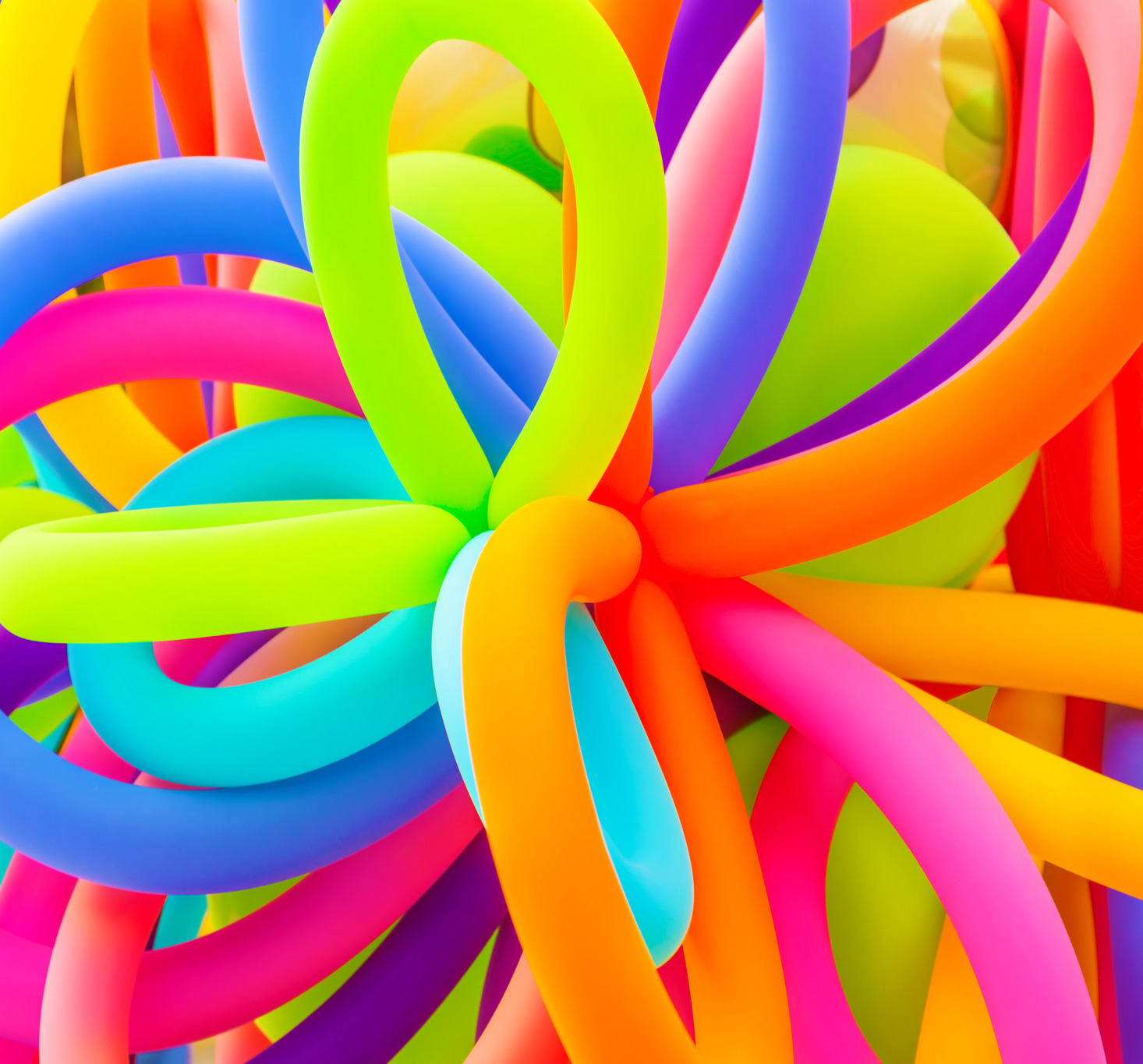 Party Planning Ideas Colorful Balloons Background