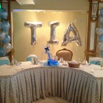 Great looking Dais for a sweet 16 party