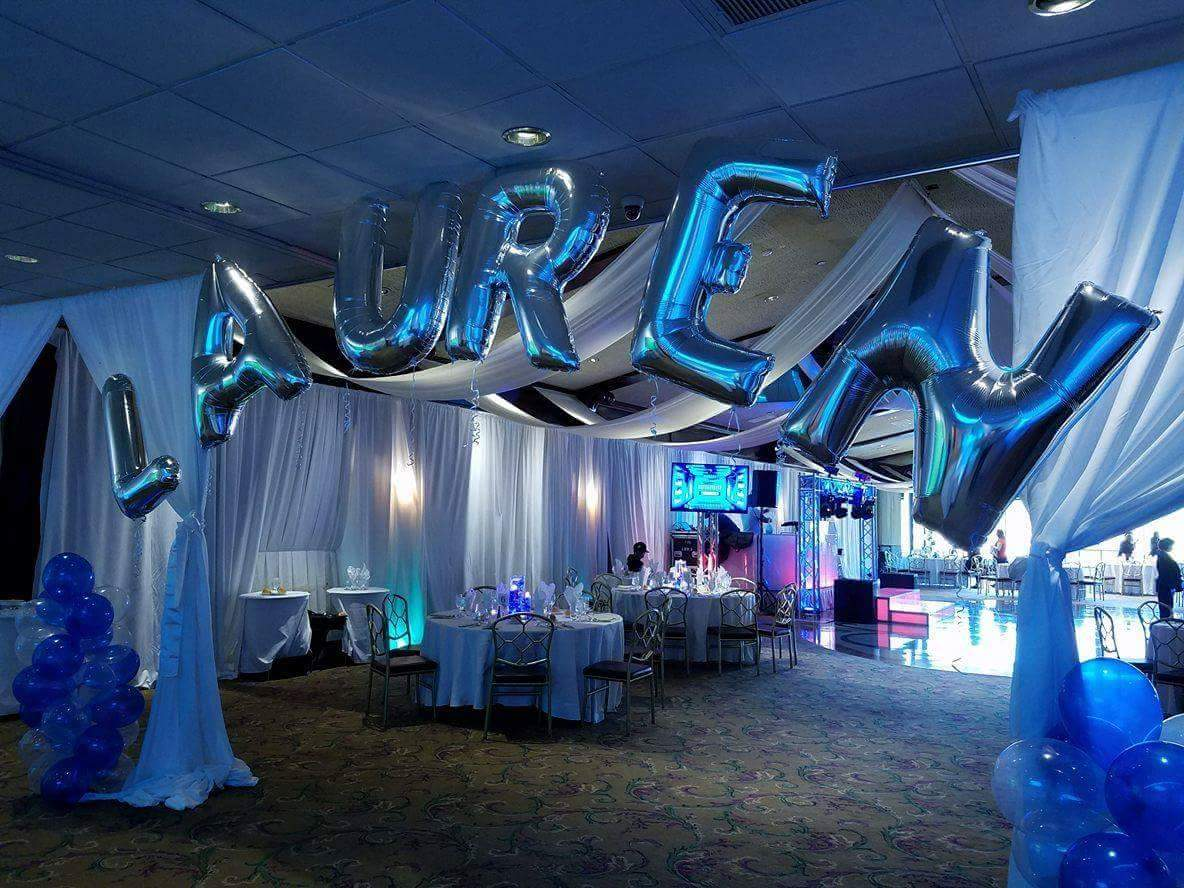 Lauren's Bat Mitzvah Grand entrance.